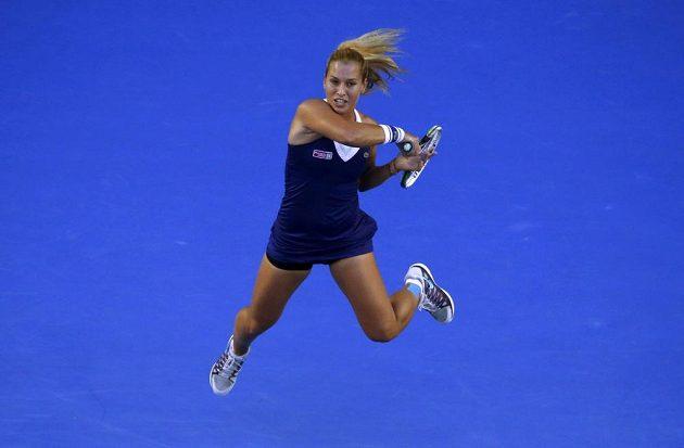 Slovenka Domminika Cibulková dala do vysněného finále Australian Open všechno.