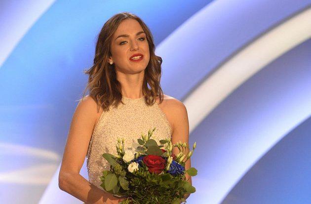 Stříbrnou příčku v anketě Atlet roku obsadila chodkyně Anežka Drahotová.