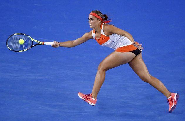 Portoričanka Monica Puigová ve 3. kole Australian Open.