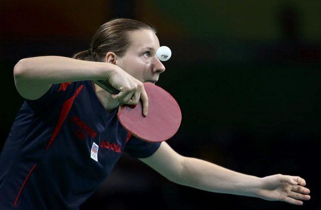 Česká reprezentantka ve stolním tenise Hana Matelová