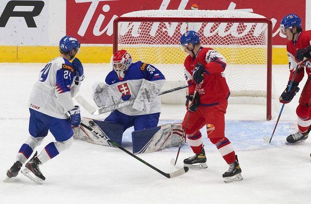 Adam Raška se postaral o jednu z branek českého týmu