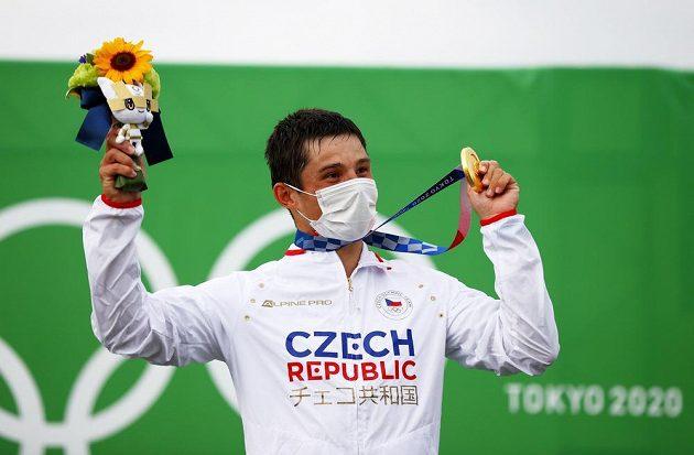 Olympijský vítěz Jiří Prskavec