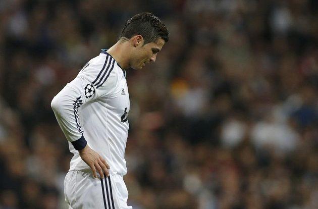 Hvězdný Cristiano Ronaldo vyšel střelecky naprázdno.