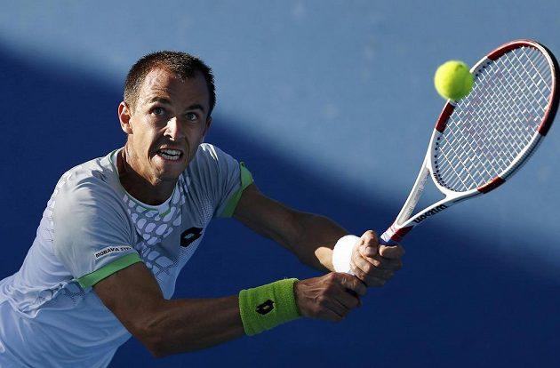 Lukáš Rosol uspěl na Australian Open v pětisetové bitvě s Francouzem De Schepperem a postoupil do druhého kola.