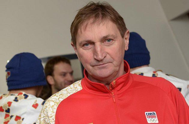 Z Kbel odletěl do Soči i trenér hokejové reprezentace Alois Hadamczik.