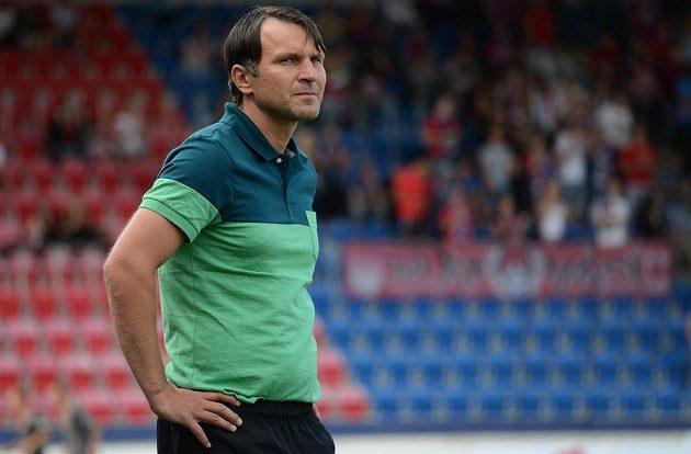 Jablonecký trenér Roman Skuhravý během utkání Superpoháru FAČR.