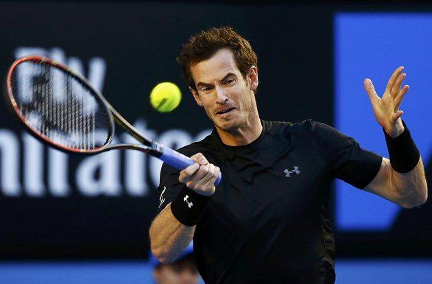 Úder Andyho Murrayho v semifinále Australian Open.