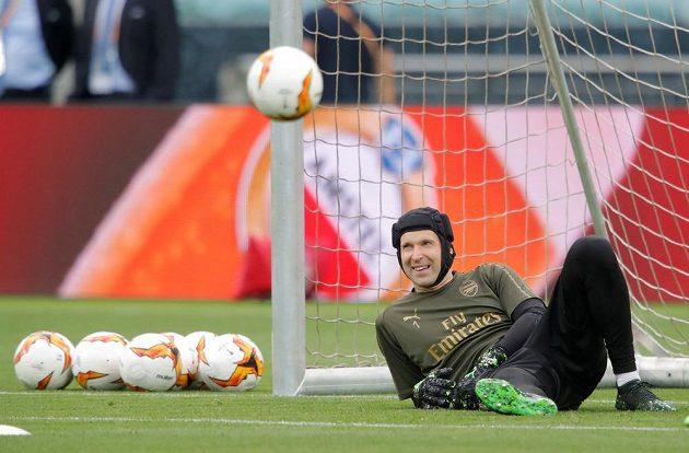 Legendární gólman Petr Čech se chystá na poslední zápas profesionální kariéry. Ve finále Evropské ligy bude hájit branku Arsenalu v utkání s Chelsea.
