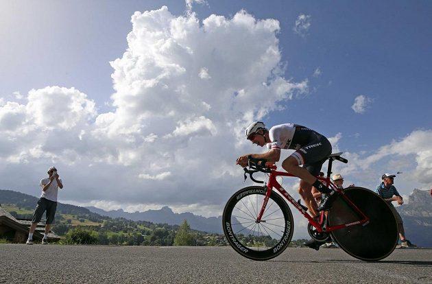 Nizozemec Bauke Mollema zůstal v celkovém pořadí Tour druhý, jeho ztráta na vedoucího Chrise Froomea ale narostla.