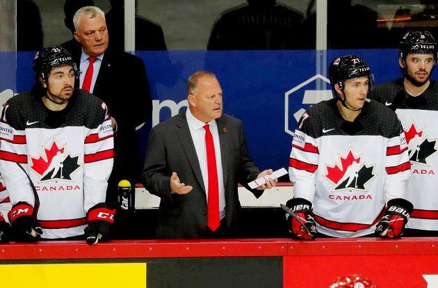 Rozpaky na kanadské lavičce při zápase s Ruskem