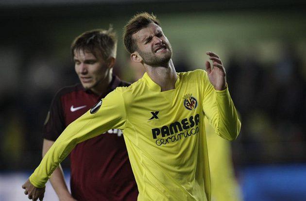 Zklamaný Leo Baptistao z Villarrealu.
