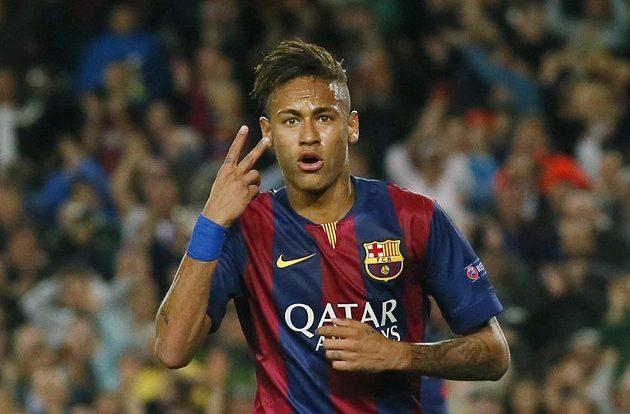 Dva góly jsem dal, jako by připomínal útočník Barcelony Neymar v odvetě čtvrtfinále Ligy mistrů s PSG.