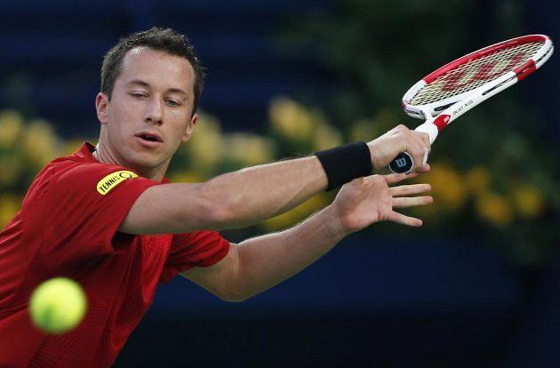Německý tenista Philipp Kohlschreiber v Dubaji na Tomáše Berdycha nestačil.