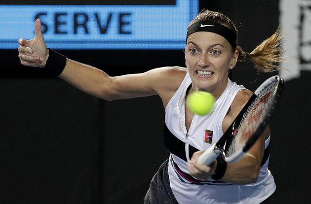 Česká tenistka Petra Kvitová postoupila na Australian Open do druhého kola.