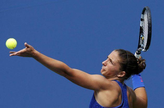 Nejpomalejší podání na US Open má Sara Erraniová.