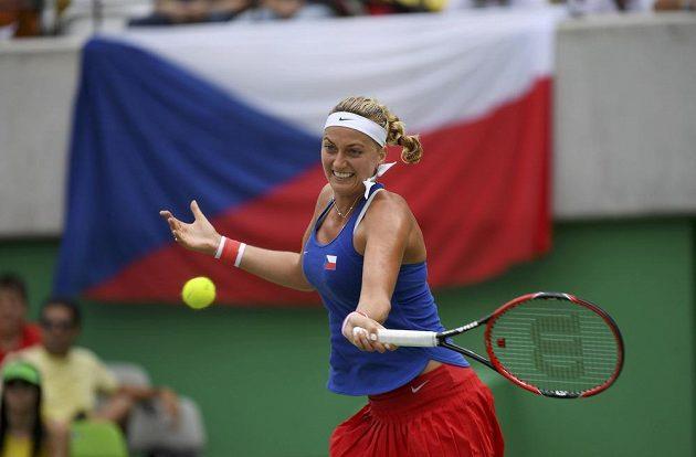 Česká tenistka Petra Kvitová ve druhém kole olympijského turnaje uspěla.