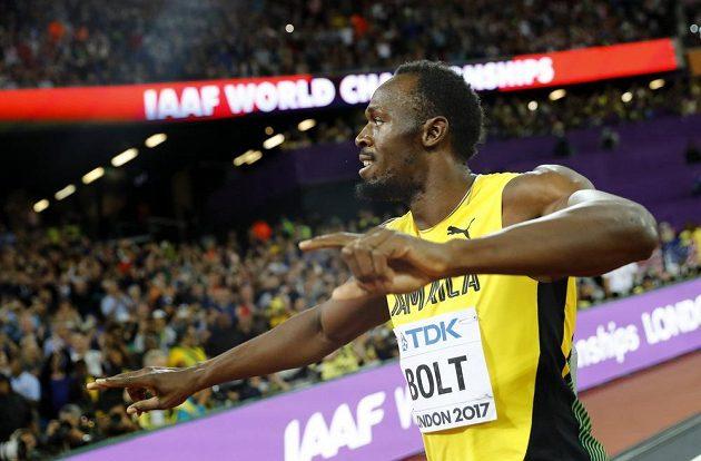 Král Usain Bolt se loučí...