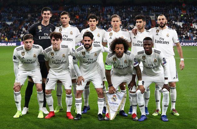 Fotbalisté Realu Madrid před utkáním Ligy mistrů s CSKA Moskva