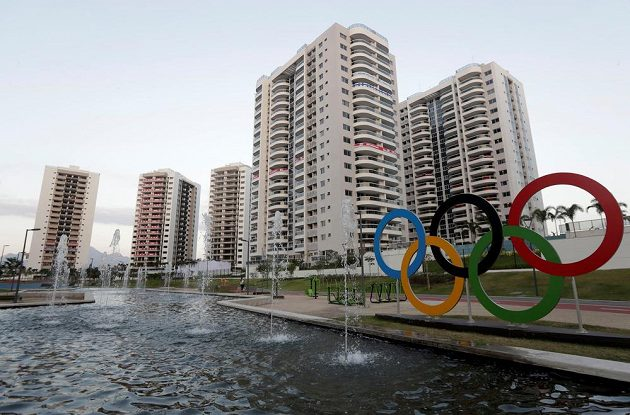 Olympijská vesnice v Riu.