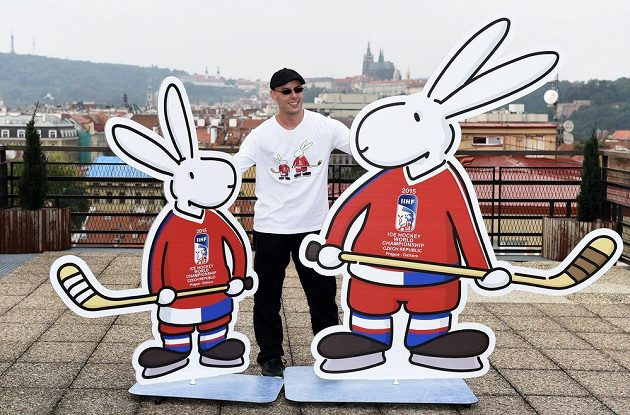 Bob a Bobek s výtvarníkem a scénografem Alexem Dowisem.