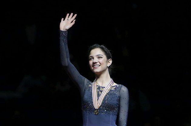 Jevgenija Medveděvová z Ruska získala titul na ME v Ostravě.