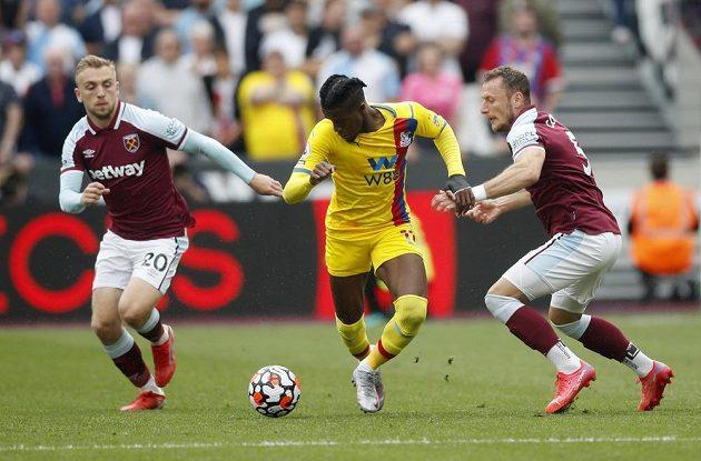 West Ham hostil ve třetím kole Premier League Crystal Palace