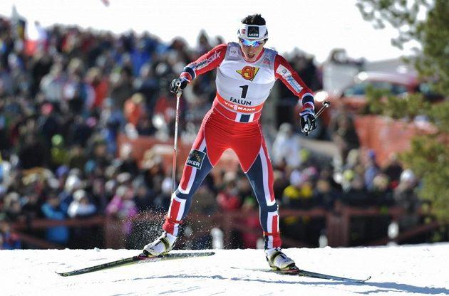 Norská běžkyně na lyžích Marit Björgenová ovládla finále Světového poháru ve Falunu.
