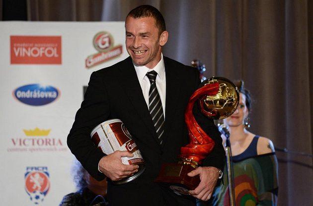 Nejlepší brankář sezóny Jaromír Blažek z týmu FC Vysočina Jihlava.