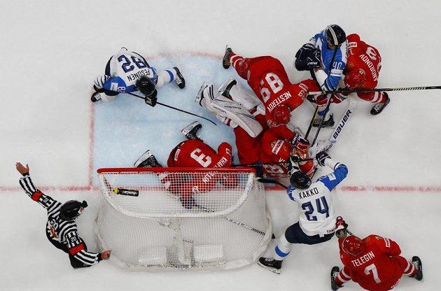 Kdo tohle vyhraje? Bitva o finále MS mezi Ruskem a Finskem.