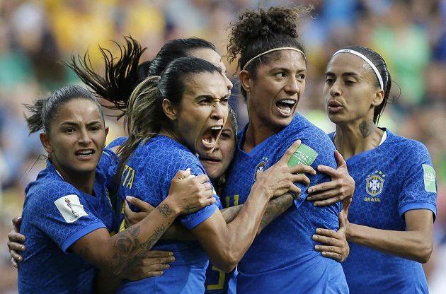 Ani branka Marty Brazílii ne body nestačila