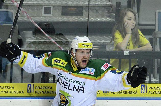 Autor rozhodujícího gólu Karlových Varů v duelu se Slavií, útočník Michal Vachovec.
