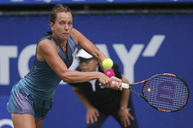 Česká tenistka Barbora Strýcová vypadla v Tokiu ve čtvrtfinále, prohrála s Ruskou Anastasií Pavljučenkovovou.