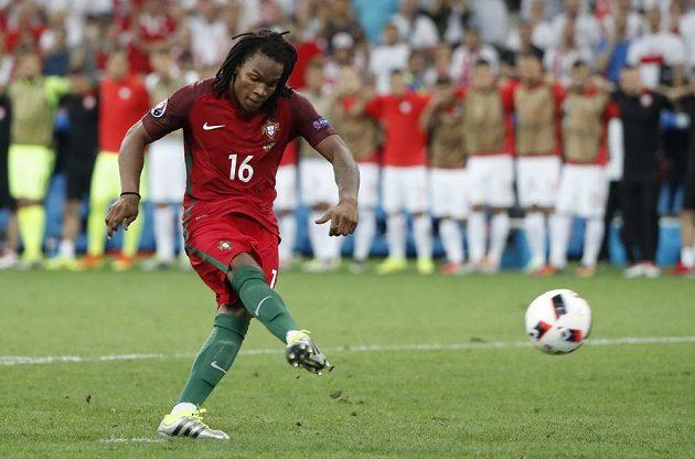 Mladá portugalská hvězda Renato Sanches ve čtvrtfinále ME s Polskem.