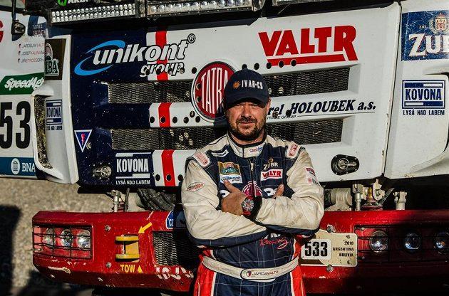 Jaroslav Valtr na Rallye Dakar.
