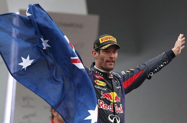Mark Webber si v Brazílii naposledy užil triumfální pocit na stupnáích vítězů ve formuli 1.