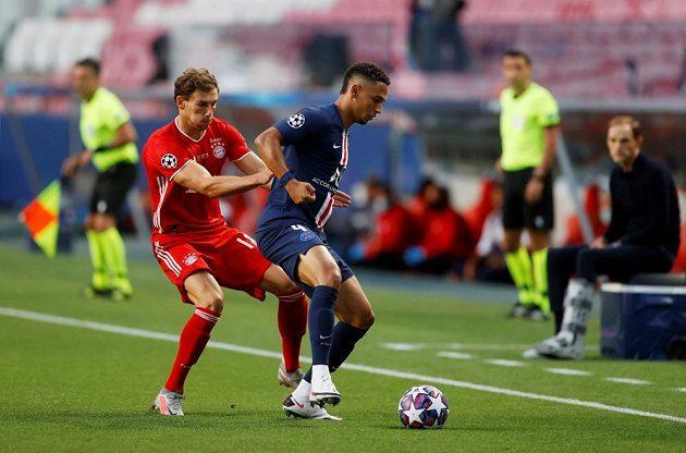 Dohrávaná sezona Ligy mistrů vrcholí finále mezi PSG a Bayernem.