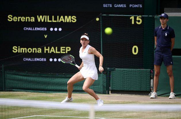 Simona Halepová vstoupila do zápasu skvěle