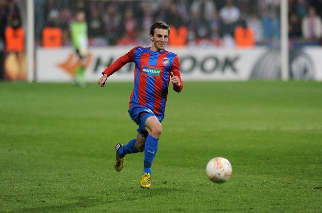 Plzeňský záložník Vladimír Darida v úvodním osmifinálovém utkání Evropské ligy proti Fenerbahce Istanbul.