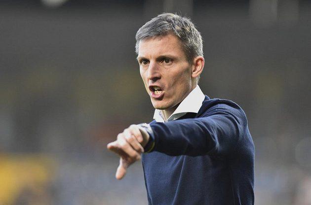 Trenér fotbalového Zlína Jan Kameník.