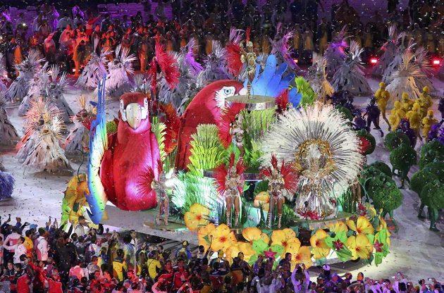A karneval na závěr.