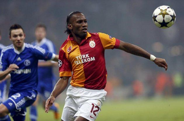 Didier Drogba v dresu Galatasaraye