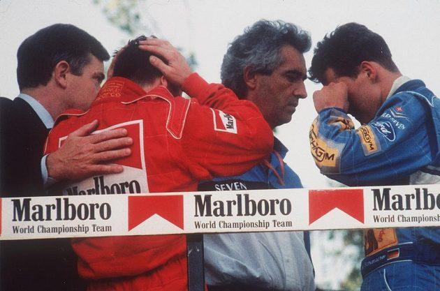 Velkou cenu San Marina vozů formule 1 v roce 1994 zastínila tragédie. Během víkendu na trati v Imole zemřeli Rakušan Roland Ratzenberger a Ayrton Senna.