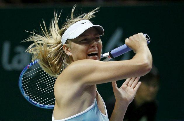 Hvězdná tenistka Maria Šarapovová.