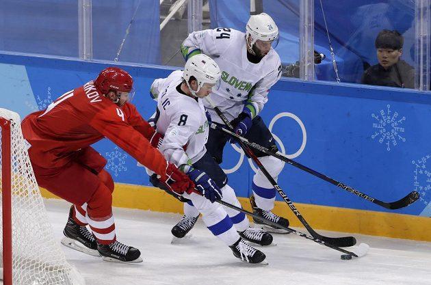 Hokejový výběr OSR měl v duelu proti Slovinsku jediný úkol, zabrat po porážce se Slovenskem.