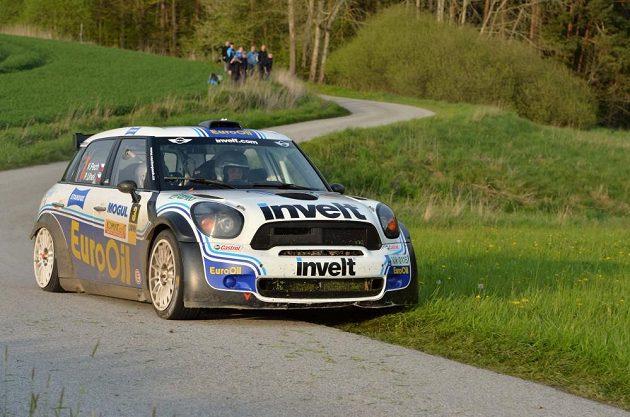 Václav Pech se strojem John Cooper Mini S2000.