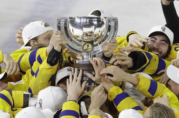 Švédové a jejich pohár pro mistry světa.