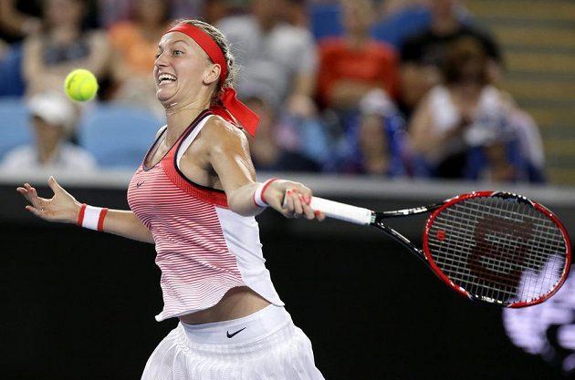 Česká jednička Petra Kvitová nezvládla druhé kolo a v Melbourne končí.