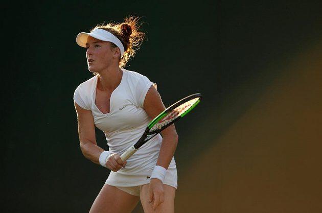 Madison Brengleová ve 2. kole vyřadila dvojnásobnou českou šampiónku turnaje.