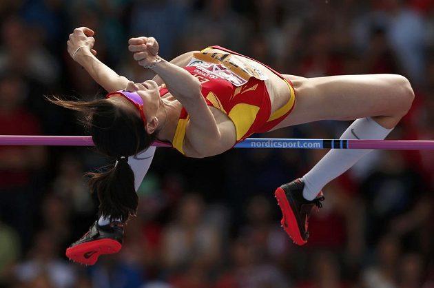 Výškařka Ruth Beitiaová v 35 letech obhájila evropské zlato.