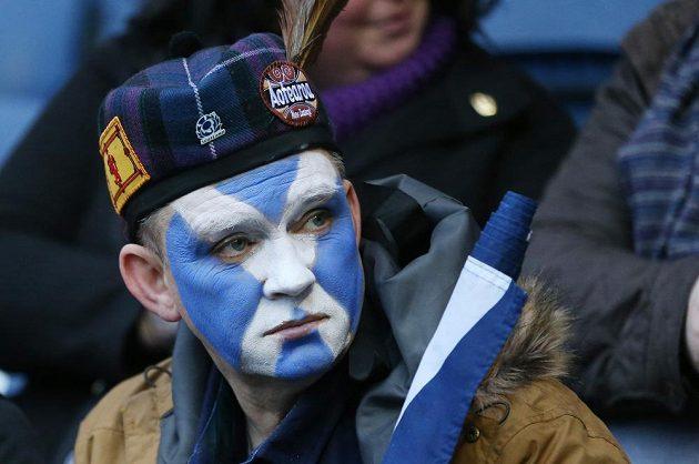 Skotský fanoušek se výhry nedočkal...